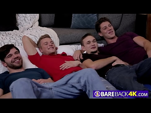 STRAIGHT dude gets SUCKED by TWO gay guys while asleep