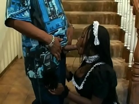 Sexy Ass Black Maid Sierra Titty Fucks A Dude S Dick And Rides It