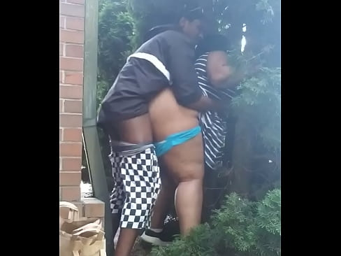 THICK BBW GETS FUCKED OUTSIDE OF CHURCH BY BBC
