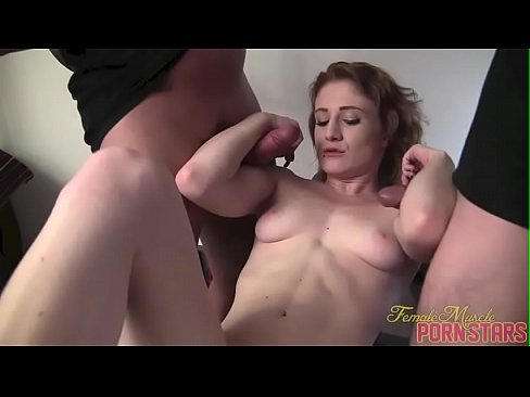 Fit Redhead Porn Star Muscle Fucks Gives Blowjobs