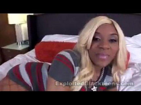 Black Teen Kakey gives superb head in Ebony Blowjob Video