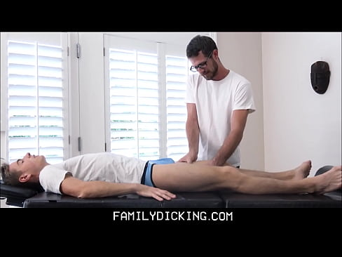 Young Athletic Twink Stepson Fucked During Massage From Family Friend