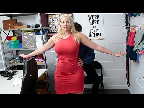 Milf Allowed to Leave After a Shoplifting Fuck From the Officer - Vanessa Cage
