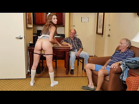BLUE PILL MEN - Precious Teen Naomi Alice Shares Her Pristine Pussy With Some Old Geezers