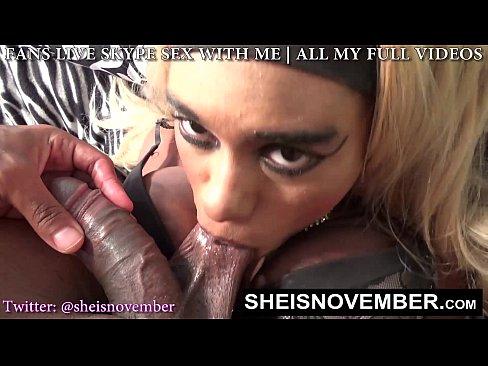 Ebony Shemales Sucking Dick