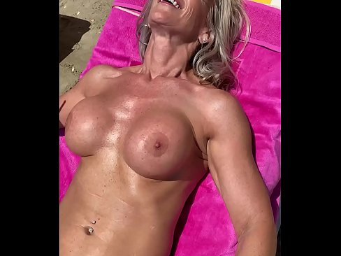 Marina Beaulieu, 59 years old, playing with dildo in south  France