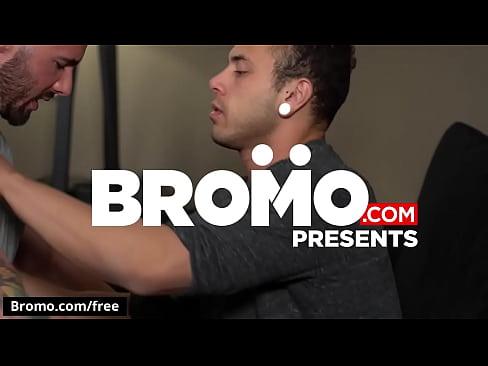 A Bareback Blaze Scene 1 featuring Blaze Burton and Leon Lewis - Trailer preview - BROMO