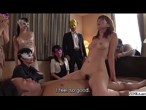 Cheating Japanese wife Yui Hatano sex with audience