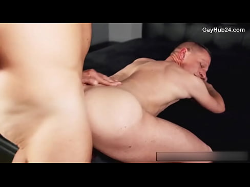 Hot gay porn. Bitch gets barebacked