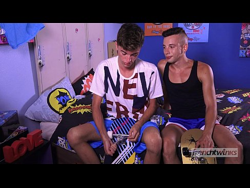 Horny skaters Twinks