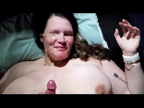 Bbw huge tit wife cumshot and creampie compilation 1