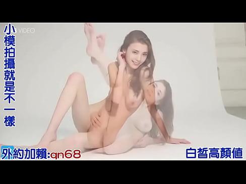 Young model in studio