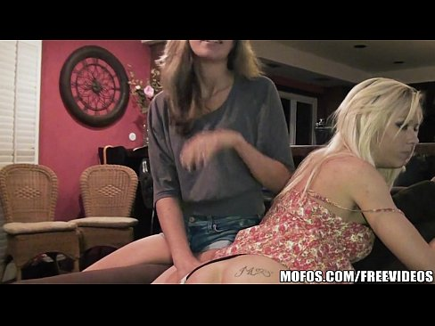 Horny blondes will always make a house party more fun