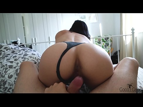 Amateur Teen Babe Rides My Dick in Socks With her Perfect Ass & Gets Yummy Creampie in Her Hot Pussy POV