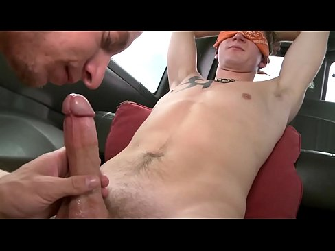 BAIT BUS - Young Randall Oreilly Tricked Into Having Gay Sex With Cole Brooks