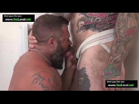 Strong guys with beard have strong sex (Gay Dating: www.SexLocal.net)
