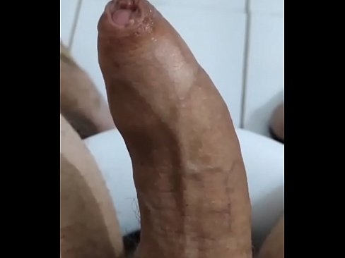 Huge and thick Uncut cock jerking and cumming on Periscope