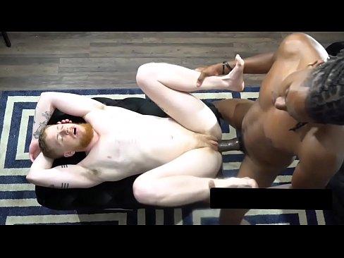 Black bull with monster cock fucks G1ng3r ftm pussy