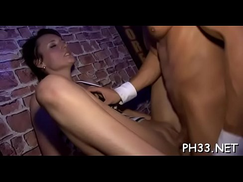 tons of group sex on dance floor blow jobs from blondes with cock juice at face