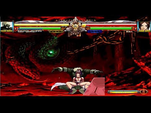 Mai Shiranui XIII VS Ero-Mukai HENTAI mugen