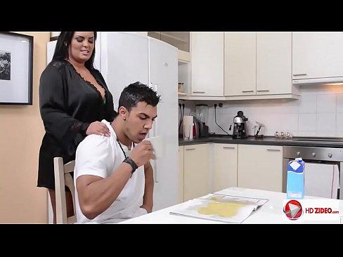 Jasmine Black In The Kitchen HD