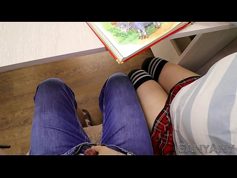 SCHOOLGIRL HANDJOB CLASSMATE UNDER THE TABLE IN A LITERATURE LESSON- SANYANY
