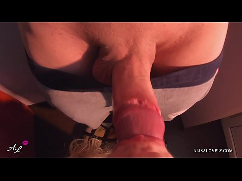 Female POV Blowjob and Handjob Big Dick from Step-Sister