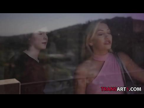 Lovely blonde enjoying her dick - Adira Allure, Ella Hollywood