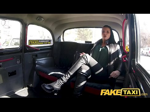 Fake Taxi Sexy big tits German lusts for big cock taxi romp on roadside