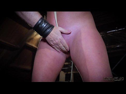 Brunette POV uncut monster cock