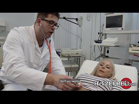 HITZEFREI Lilli Vanilli fucked by her doctors big cock