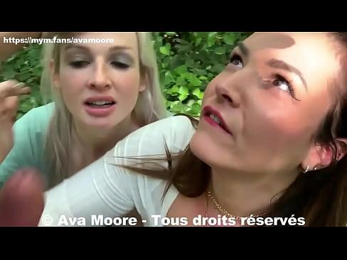 Ava Moore - Un Vieux Pervers Se Vident Les Couilles Sur Nous - PORNO REALITE