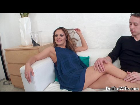 Wife getting fucked in front of husband