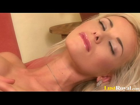 Horny Blonde Just Can't Stop Masturbating When She's Alone