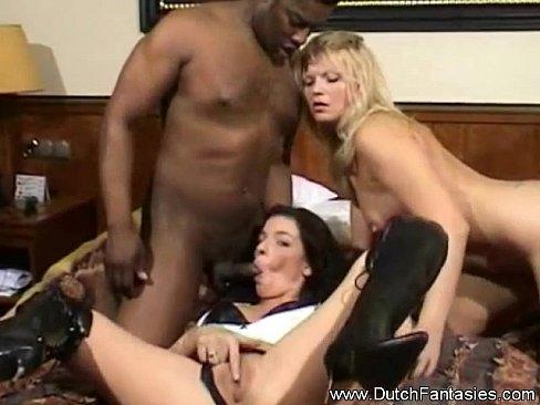 Interracial Threesome Showcase