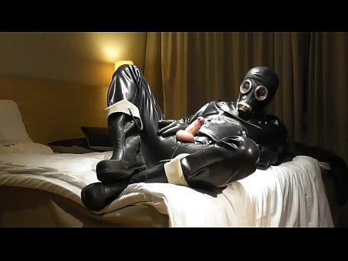 Fullrubber and turned down fireman wellies