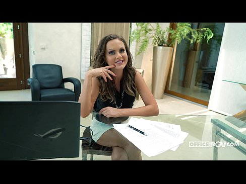 Your Horny Boss Tina Kay Loves it in the ass - itsPOV