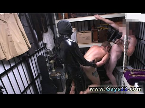 Gay sex male usa Dungeon master with a gimp