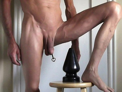 Penis and Butt Plugs Fuck My Cock and Ass
