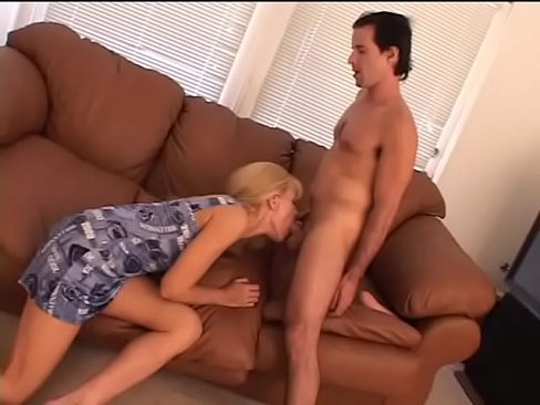 Tall blonde with long hair Nicole Moore spreads her pussy and gets fucked from behind