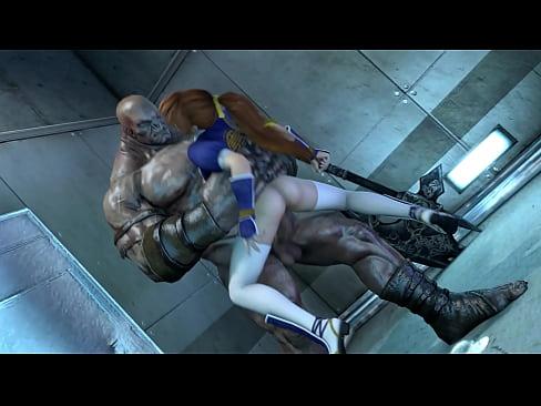 DOA Kasumi vs Orc (by Darsovin)