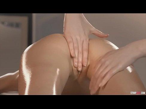 Lebians oil massage sex