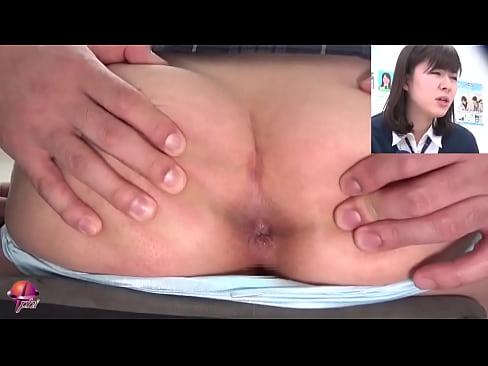 Anal orgasm during class. Fingering schoolgirls' tight assholes Part 1