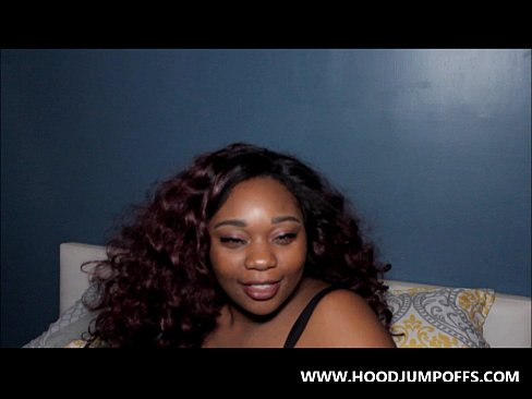 EBONY BLOWJOB QUEEN  @irie voluptuous GIVES A SLOPPY GAGGER BLOWJOB ON 2 DICKS