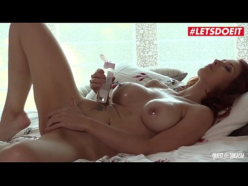 LETSDOEIT - #Isabella Lui - Sexy Czech MILF Plays With Vibrator In Hot Solo Session