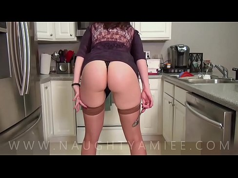 Your mom uses her ass to get you horny so that she can fuck you - Amiee Cambridge
