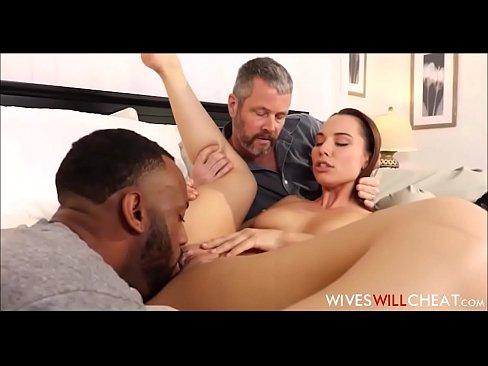 Topless women rubbing guys cock gif