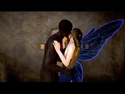 ELF BUTTERFLY GIRL THE DARK MONSTER'S EROTIC LIFE 3D HENTAI 43