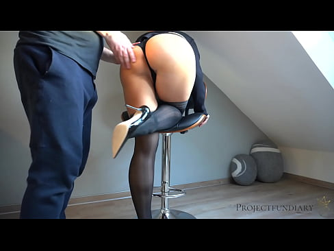 facility manager uses his sexy female boss - ends with a wet creampie pussy in hold-ups stockings - projectfundiary