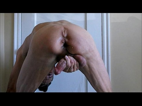 Anal Bareback Self Fuck Fist and Cum